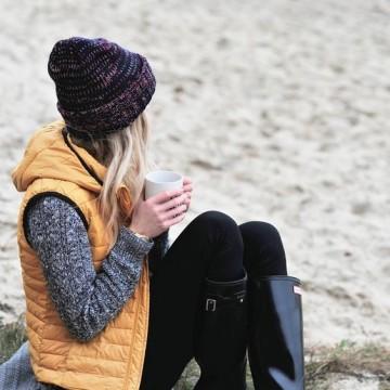 18 стайлинг идеи как да носите пухен елек