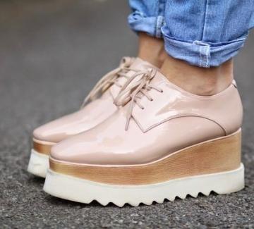 38 идеи как да носите оксфорд обувки с платформа