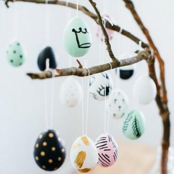 10 идеи как да украсим великденско дръвче у дома