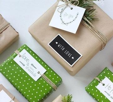 24 идеи за опаковане на коледните подаръци