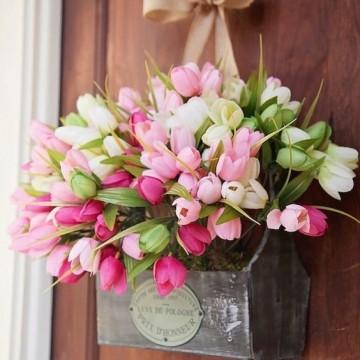 Пет красиви идеи как да настаним пролетта у дома