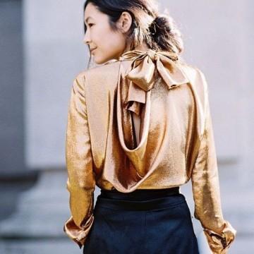22 стайлинг идеи как да носите копринена риза или блуза
