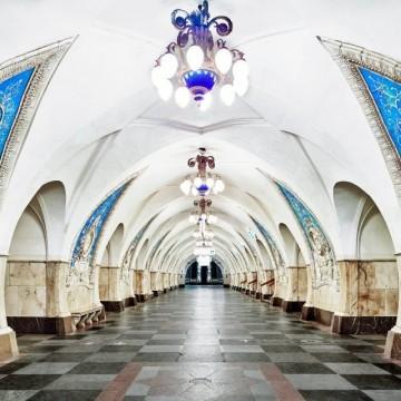 Невероятната красота на метростанциите в Русия