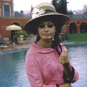 Италиански дни: На гости в римската вила на София Лорен през 1964 г.