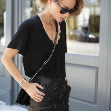 31 стайлинг идеи как да носите черна тениска