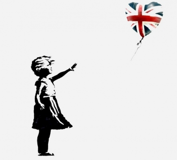 Banksy подарява своя рисунка в уникална акция