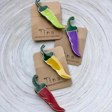 Цветната колекция аксесоари на Тина