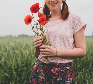 Като полско цвете