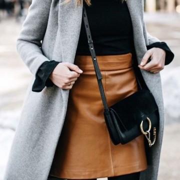 33 стайлинг идеи как да носите пола през зимата
