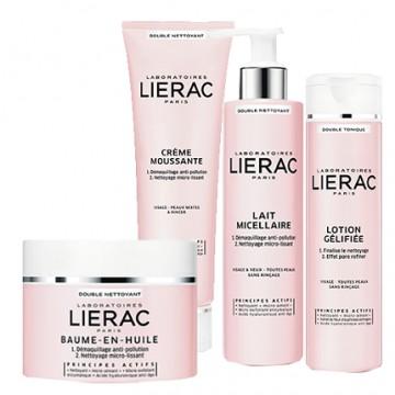 Подаряваме ви продукт по избор от новата двойно почистваща серия на Lierac
