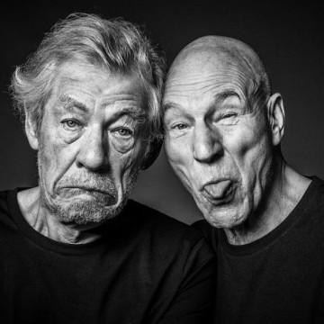 31 доказателства от Иън Маккелан и Патрик Стюарт, че истинското приятелство съществува!
