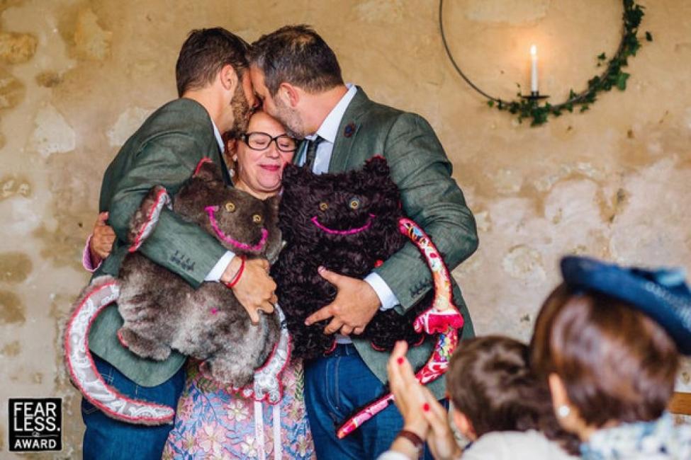 24 от най-вълнуващите сватбени фотографии в света