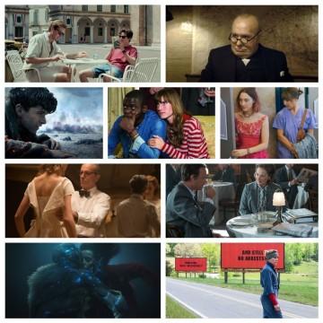 Оскари 2018: Номинации за най-добър филм