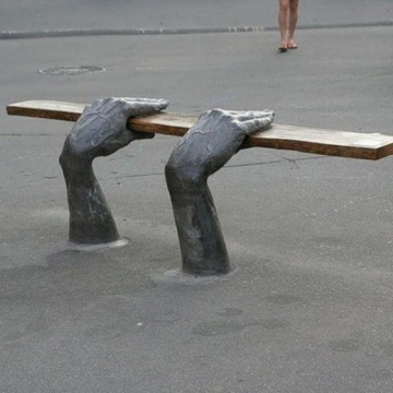 Най-нестандартните пейки в света