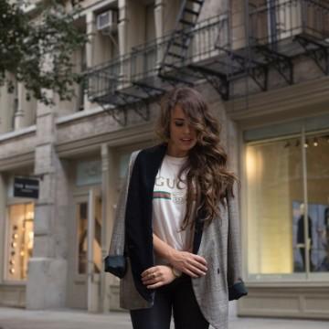 Сако & тениска: 29 стайлинг идеи