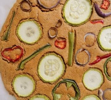 Вкусно по природа: Зеленчукова питка от нахут