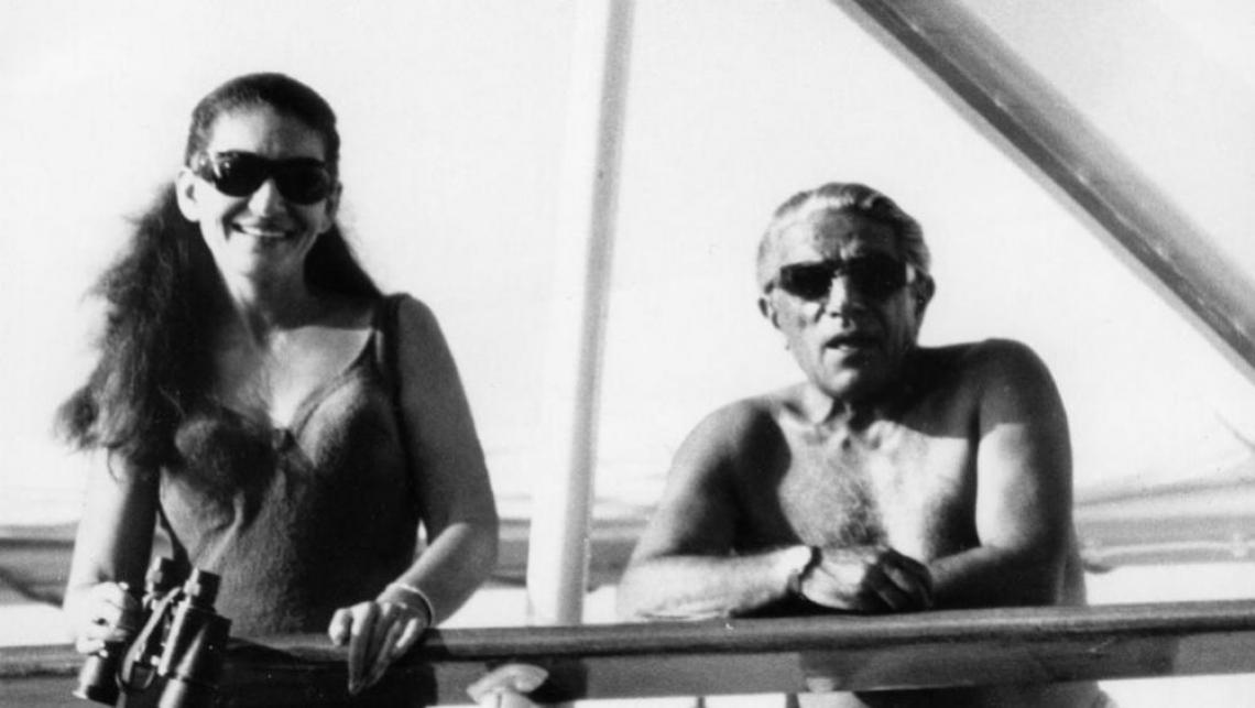 Мария Калас и Аристотел Онасис – истинска гръцка трагедия