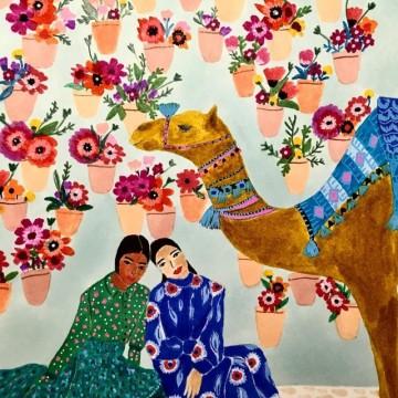 Нежната страна на арабския свят в 16 прелестни илюстрации