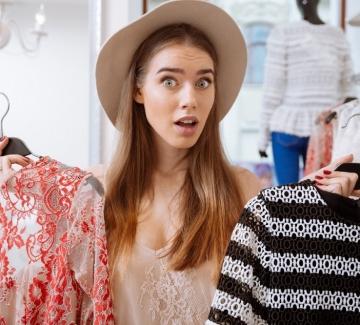 """6 лесни трика, с които ще забравите трайно за проблема """"Нямам какво да облека"""""""