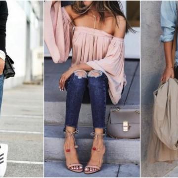 39 стайлинг идеи за уикенда с участието на любимите ви скъсани джинси