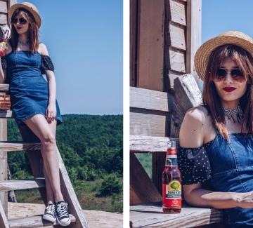 Диня, лято и едно пораснало момиче