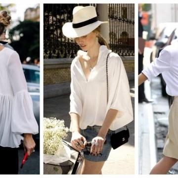 24 стайлинг идеи с ефирна риза или блуза