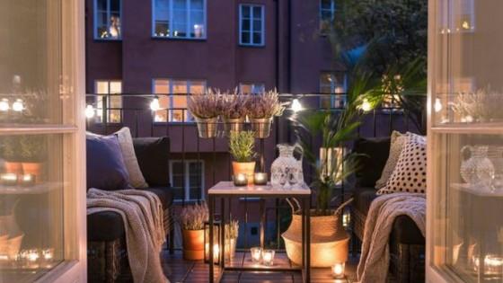 Лятна вечер на балкончето: 22 красиви идеи