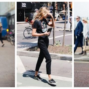 Черната тениска е винаги добро решение: 28 стайлинг идеи
