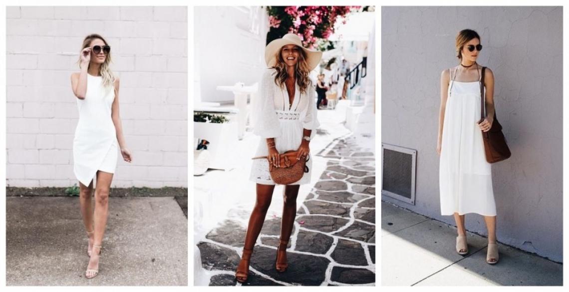Бялата рокля, без която не можем: 29 стайлинг идеи