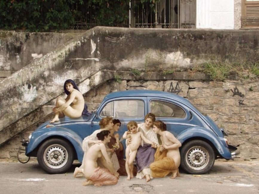 Как класическите шедьоври излязоха на улицата