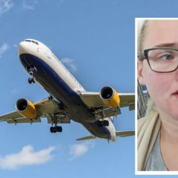 Как една шведска студентка спря самолет и спаси живот