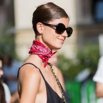 22 стайлинг идеи как да носите шал и лента за коса