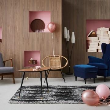 Юбилейната колекция на IKEA е мечта за всеки винтидж любител