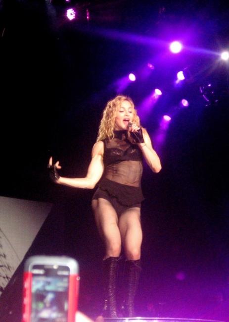 Живот с Мадона, разказът на едно момче