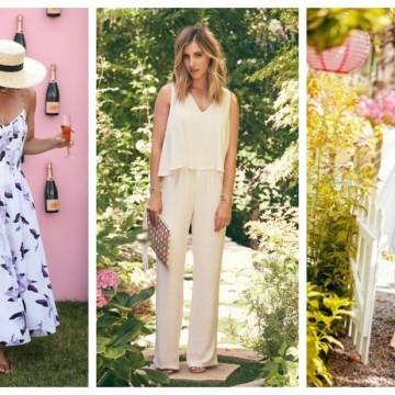 Как да се облечем за градинско парти: 29 стайлинг идеи