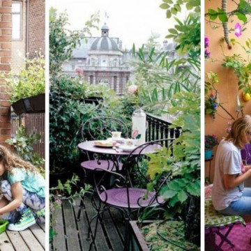 Балкончето в края на лятото: 23 красиви идеи