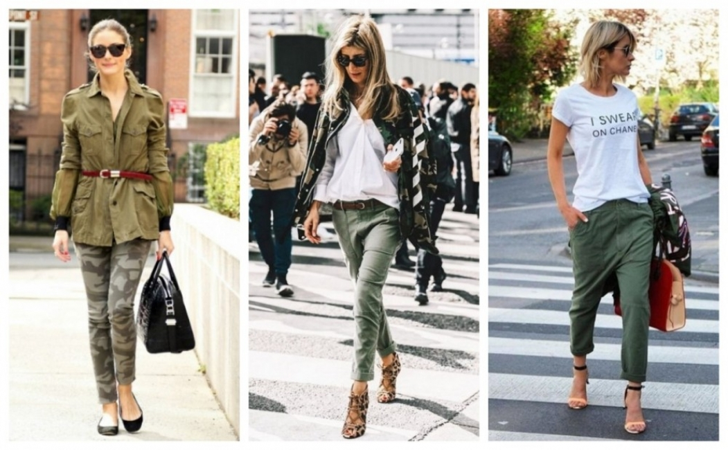 23 стайлинг идеи как се носи Army Green