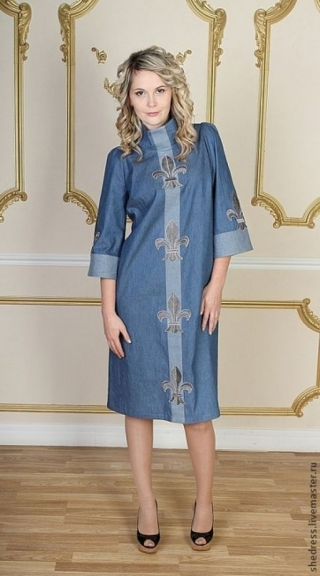 Да преоткрием роклите от деним: 23 стайлинг идеи