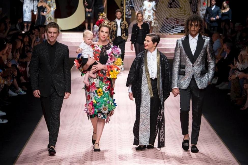Историческо ревю на Dolce & Gabbana