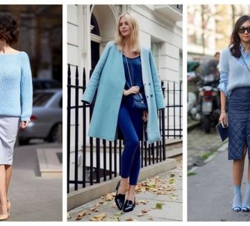 Есенни тенденции: Пастелно синьо