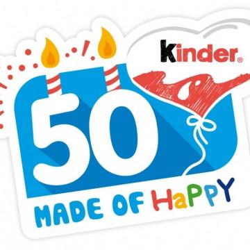 Kinder сбъдва желания по случай своя 50-и рожден ден