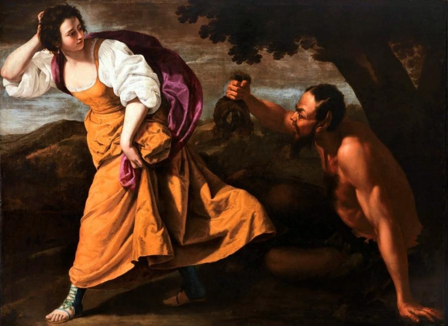 """""""Изнасилената италианска художничка"""" и нейната история"""