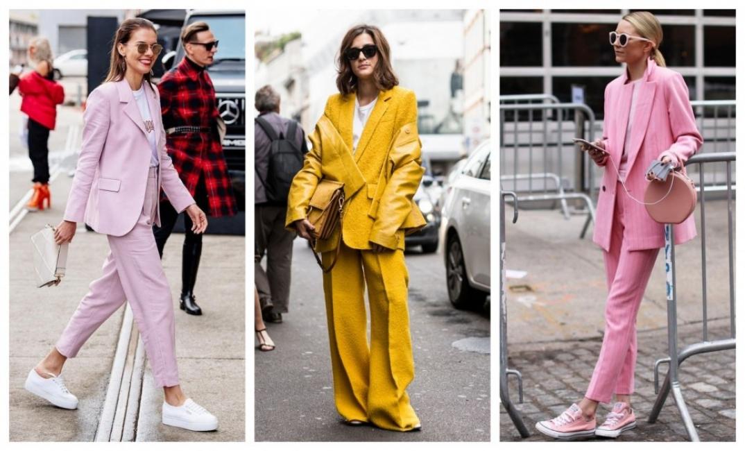 Тази седмица ще носим цветен костюм: 33 стайлинг идеи