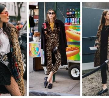 Хищникът в нас: 31 стайлинг идеи в леопардов принт