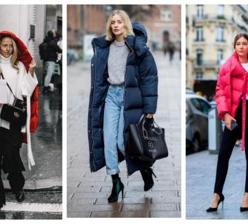 33 стайлинг идеи как елегантно да носим обемното зимно яке