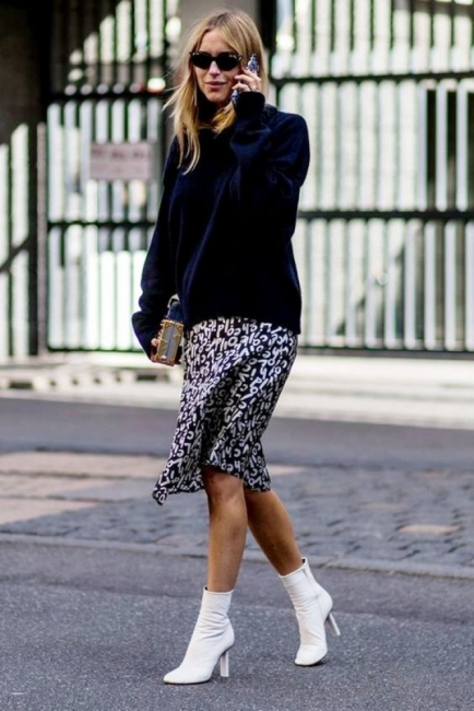Топ тенденция: Как да носим бели ботуши този сезон