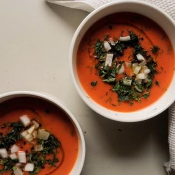 Вкусно по природа: Кореноплодна крем супа