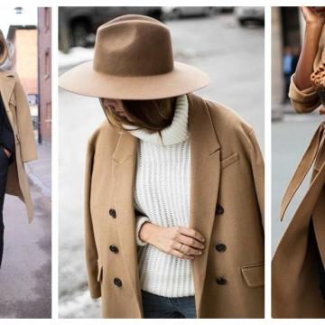 Тази седмица ще носим camel палто: 39 стайлинг идеи