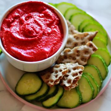 От А до Ям: Хумус с червено цвекло