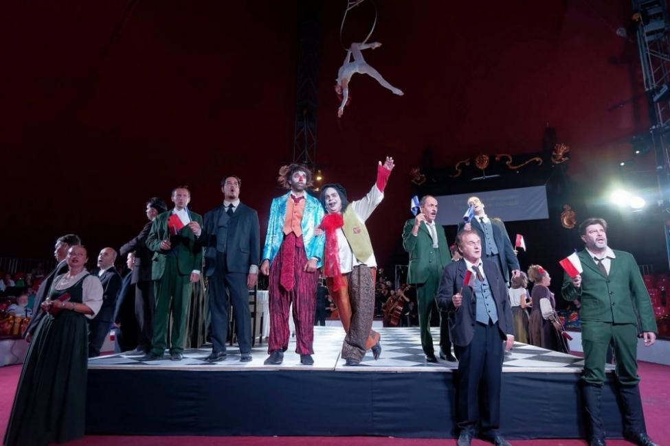 Опера под шапитото на цирка